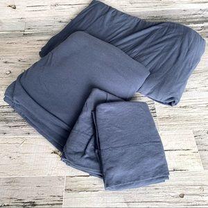Double size jersey sheet set
